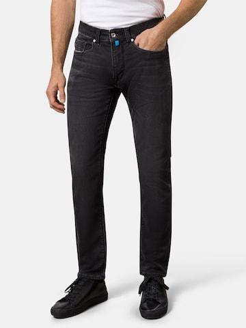 PIERRE CARDIN Jeans 'Lyon' in Schwarz