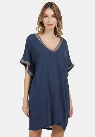 DreiMaster Vintage Dress in Blue