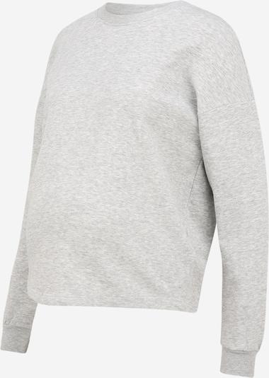 Only Maternity Sweatshirt in hellgrau, Produktansicht