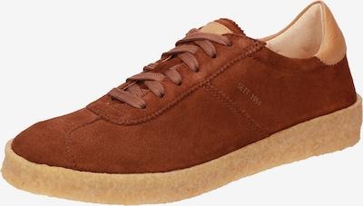 SIOUX Sneakers laag 'Grash' in de kleur Roestbruin / Lichtbruin, Productweergave