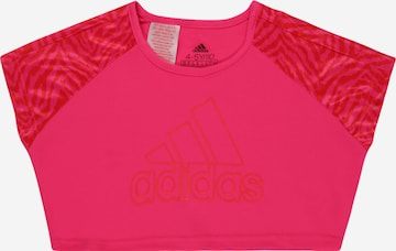 ADIDAS PERFORMANCE Performance shirt in Pink