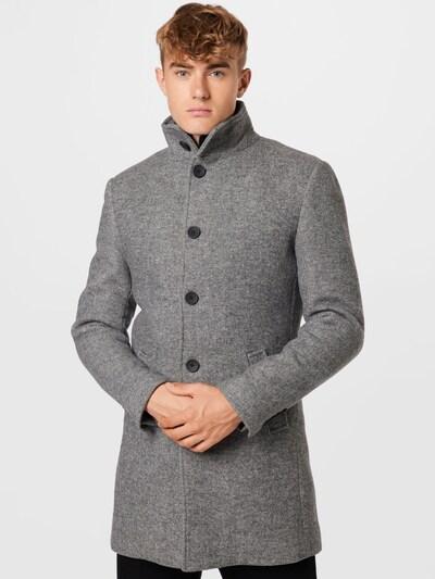 Palton de primăvară-toamnă 'Ontario' Bruun & Stengade pe gri, Vizualizare model
