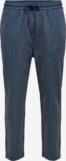 Pantaloni 'LINUS' Only & Sons pe albastru închis / alb, Vizualizare produs