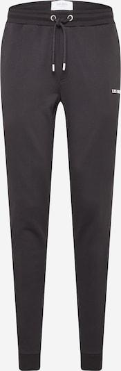 Les Deux Pantalón 'Lens' en negro / blanco, Vista del producto
