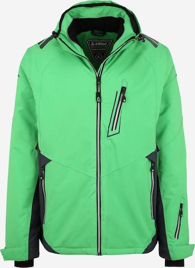 KILLTEC Sport-Jacke 'Mylo' in grün / schwarz, Produktansicht