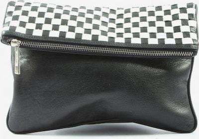 Hauber Clutch in One Size in schwarz / weiß, Produktansicht