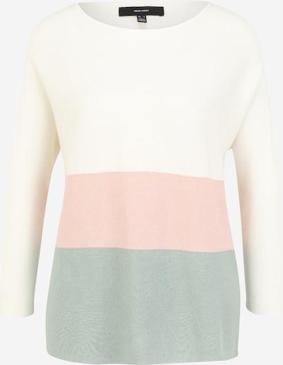 Vero Moda Tall Pull-over 'NELLIE GLORY' en menthe / rose / blanc, Vue avec produit