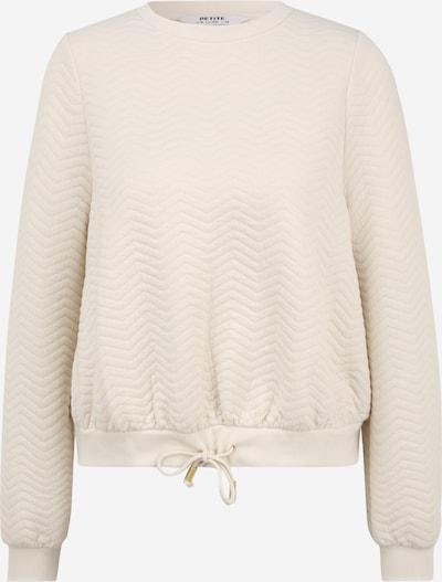 Dorothy Perkins (Petite) Sweat-shirt en blanc cassé, Vue avec produit