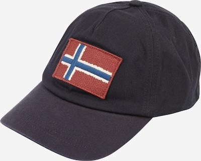 Kepurė 'FONTAN 1' iš NAPAPIJRI, spalva – melsvai pilka / rūdžių raudona / juoda / balta, Prekių apžvalga
