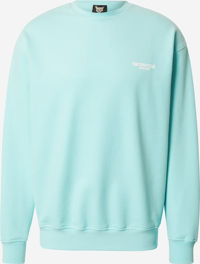 PARI Sweatshirt 'SPORTS CLUB' in Turquoise / White, Item view