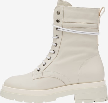 Marc O'Polo Lace-Up Boots in White