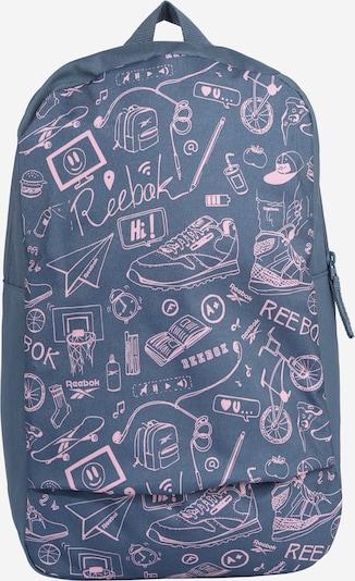 Reebok Sport Sac à dos en bleu-gris / rose, Vue avec produit