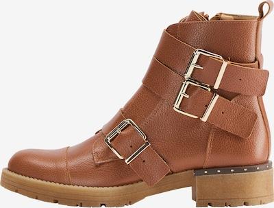 DreiMaster Vintage Boots in cognac, Produktansicht