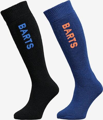 Barts Kniestrümpfe in blau / schwarz, Produktansicht