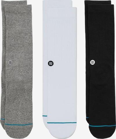 Stance Socken in graphit / schwarz / wollweiß, Produktansicht