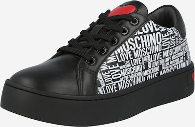 Love Moschino Sneaker in rot / schwarz / weiß, Produktansicht