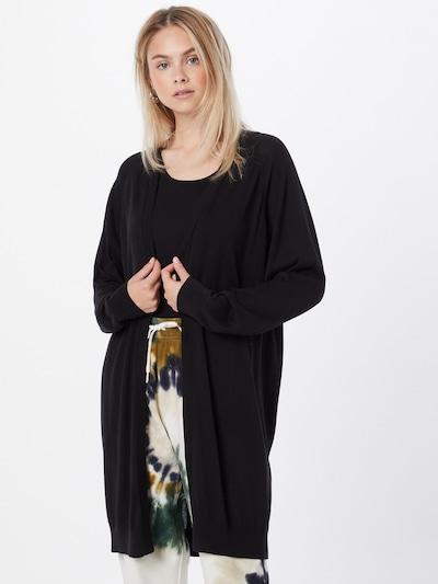 DRYKORN Strickjacke 'SURIMA' in schwarz, Modelansicht
