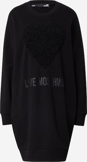 Rochie Love Moschino pe negru, Vizualizare produs
