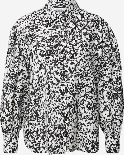 ONLY Blouse 'OLYMPIA' in de kleur Zwart / Wit, Productweergave
