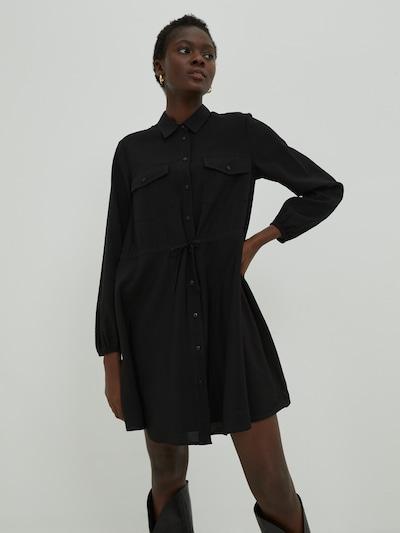 EDITED Kleid 'Faye' in schwarz, Modelansicht