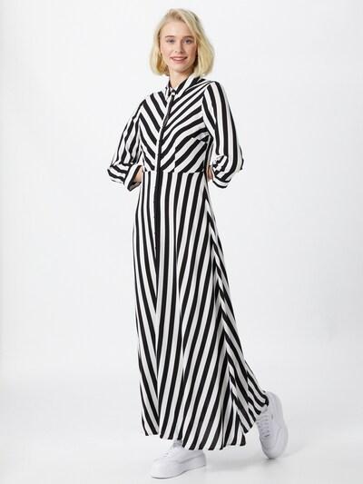 Y.A.S Košeľové šaty 'SAVANNA' - čierna / biela, Model/-ka