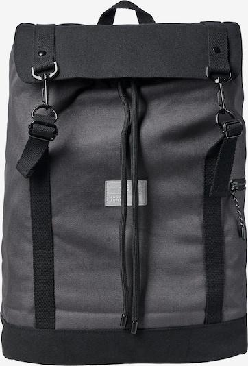 JACK & JONES Rucksack 'VANCE' in dunkelgrau / schwarz, Produktansicht