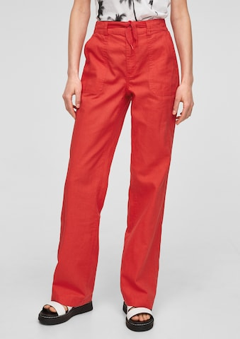 Q/S by s.Oliver Broek in Rood