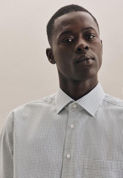 SEIDENSTICKER Zakelijk overhemd ' Regular ' in de kleur Groen, Productweergave
