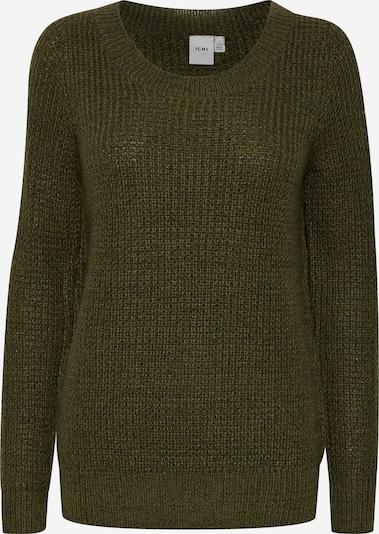 ICHI Pullover 'ODANSA' in khaki, Produktansicht