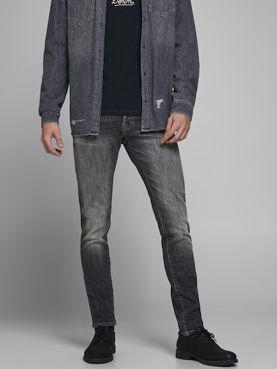 JACK & JONES Vaquero 'Glenn Fox' en negro denim, Vista del modelo