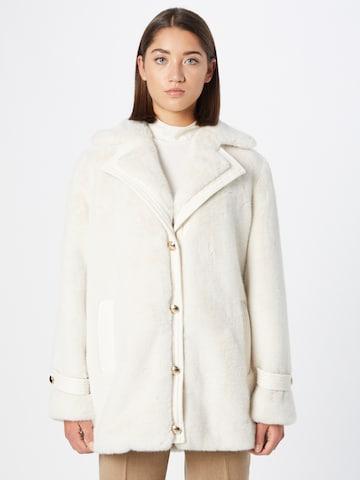 LIU JO JEANS Winter Coat in White