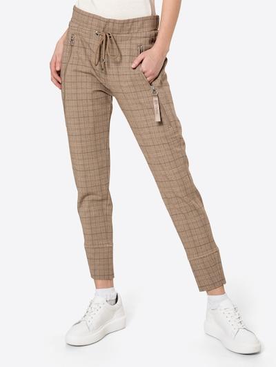 Pantaloni 'FUTURE' MAC di colore marrone / marrone chiaro / nero, Visualizzazione modelli