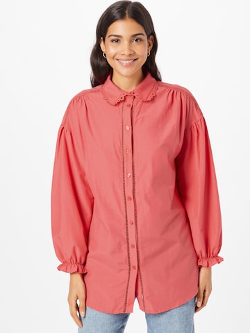 Trendyol Bluse in Pink