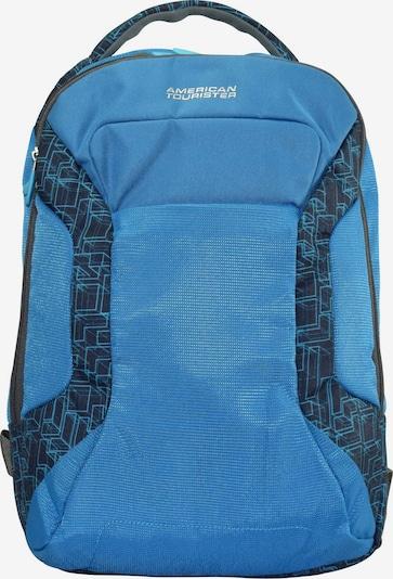 American Tourister Rucksack 'Road Quest' in blau / schwarz, Produktansicht