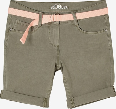 s.Oliver Jeans 'Suri' in de kleur Kaki, Productweergave