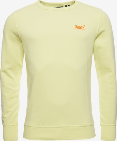 Superdry Pullover in gelb, Produktansicht