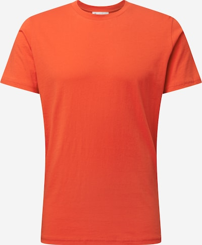 By Garment Makers T-Shirt en rouge orangé, Vue avec produit