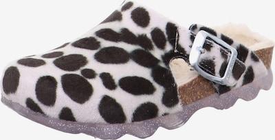 Sandale SUPERFIT pe negru / alb, Vizualizare produs
