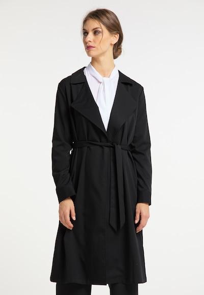 usha BLACK LABEL Mantel in schwarz, Modelansicht