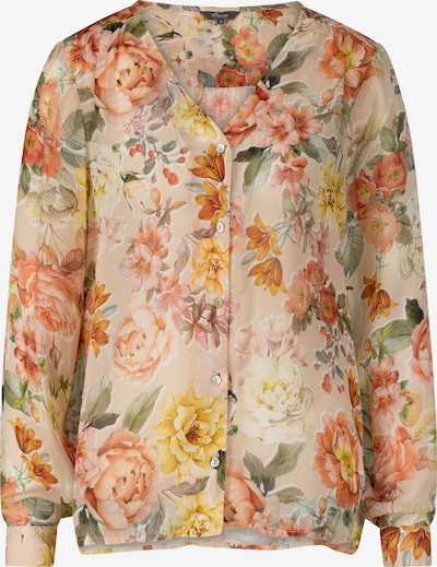 PRINCESS GOES HOLLYWOOD Blouse 'VINTAGE FLOWER' in Nude / Yellow / Green / Apricot, Item view