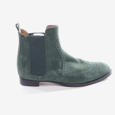 HERMÈS Dress Boots in 40 in Green, Item view