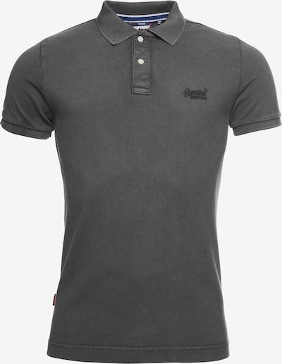 Superdry Poloshirt in grau, Produktansicht