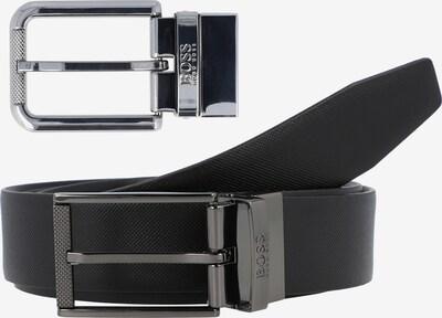 BOSS Casual Wendegürtel in schwarz, Produktansicht