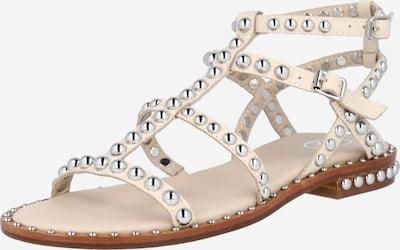 ASH Sandale 'Precious Combo' in silber / eierschale, Produktansicht