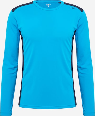 CMP T-Shirt fonctionnel en bleu clair / bleu foncé, Vue avec produit