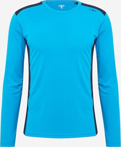 CMP Camiseta funcional en azul claro / azul oscuro, Vista del producto