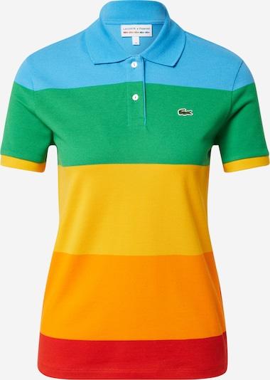 LACOSTE Poloshirt in himmelblau / gelb / grün / orange / rot, Produktansicht