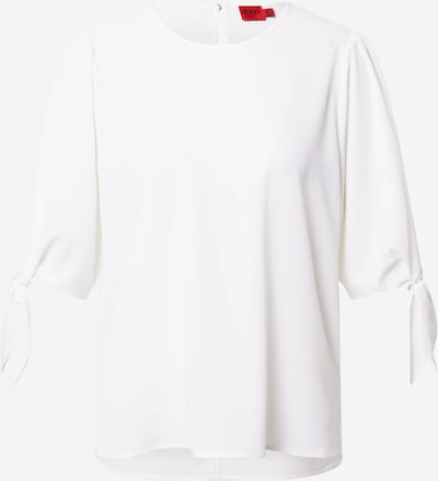HUGO Blouse 'Ciliras-1' in de kleur Wit, Productweergave