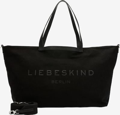 Liebeskind Berlin Sac week-end en noir, Vue avec produit