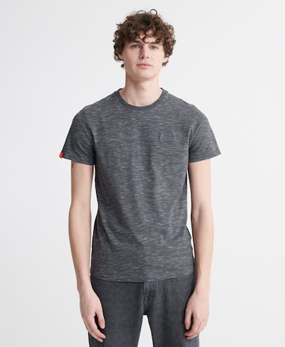 Superdry T-Shirt in taubenblau: Frontalansicht